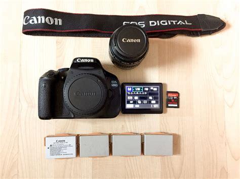 canon eos 600d rebel t3i dslr 35 80mm ef lens memory