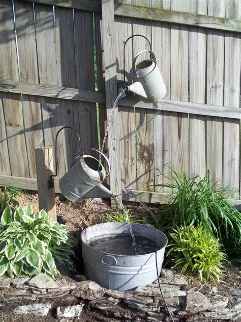 backyard water fountain 18 great diy water features for your garden style motivation