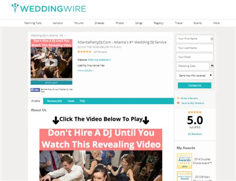 Weddingwire Advertising weddingwire advertising review wedding pro success story