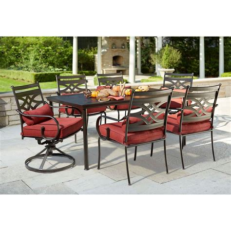 patio set with swivel chairs patio dining set with swivel chairs on traditions