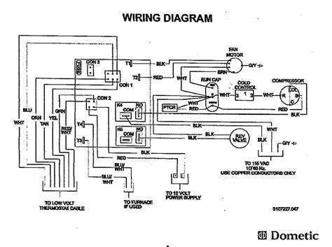 air conditioner electrical diagram air compressor motor