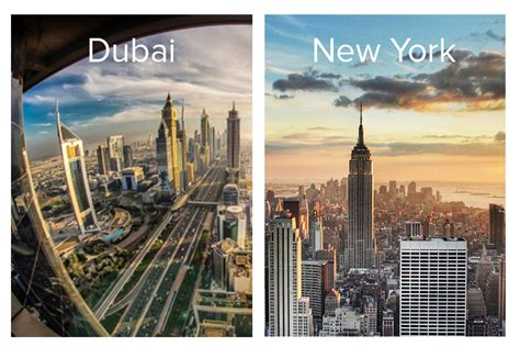 City Of New York Property Records A Tale Of Two Cities Dubai Vs Manhattan New York Uae