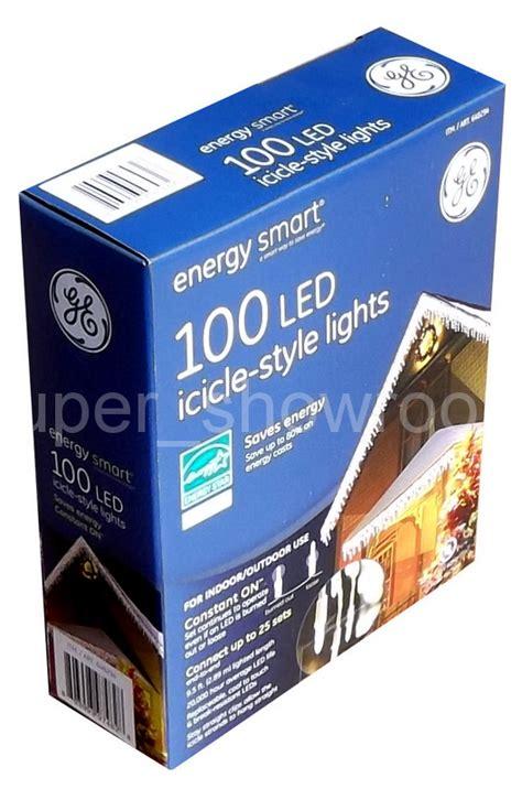 ge energy smart 100 led style lights ge energy smart 100 led icicle style white