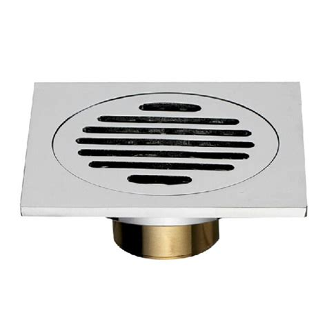 bathroom floor drain cover buy copper square floor drain bathroom anti odor cover