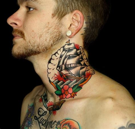 30 awesome neck tattoo designs