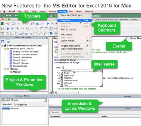 Vb New new vb editor for excel 2016 for mac excel cus