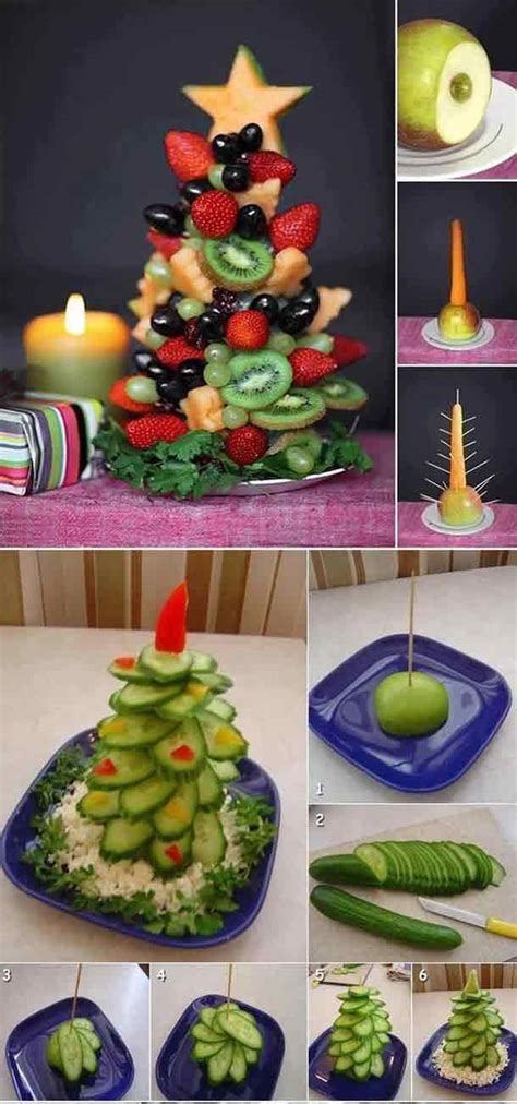diy food christmas trees iseeidoimake