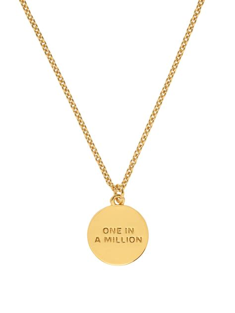 kate spade pave initial pendant in gold d lyst