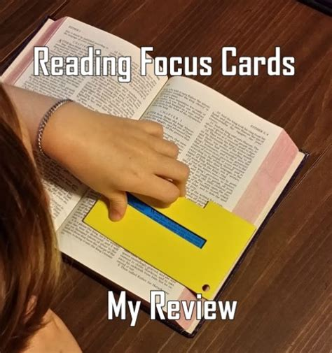 reading focus cards my review the curriculum choice
