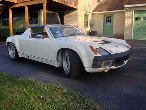 retro porsche custom 1974 porsche 914 custom pa vintage race car sales