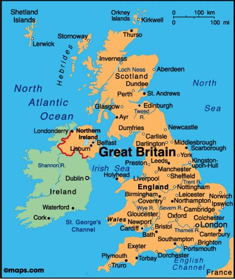 show map of uk maps show map of uk northern europe europe