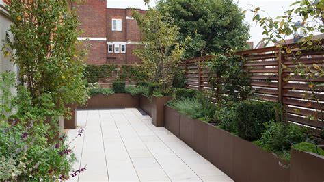 planters house modern roof terrace planters randle siddeley
