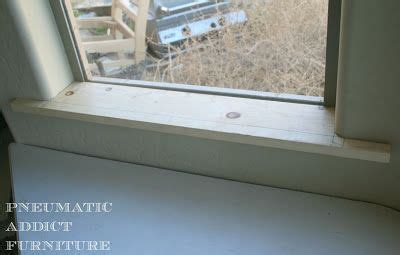 Window Sill Bullnose Edge How To Trim Out A Window With Bullnose Corners General