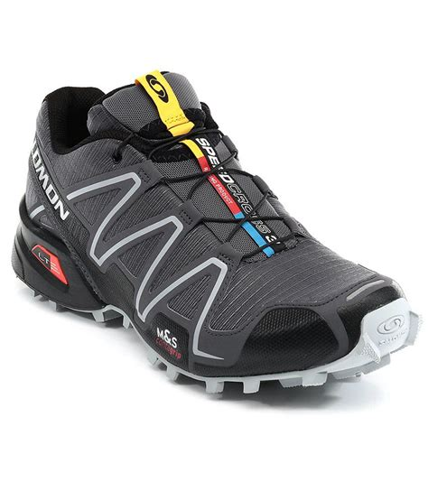 salomon sport shoes salomon speedcross 3 gray sport shoes price in india buy