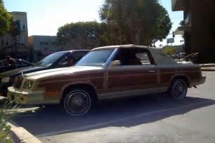 84 Chrysler Lebaron The Peep 1984 Chrysler Lebaron