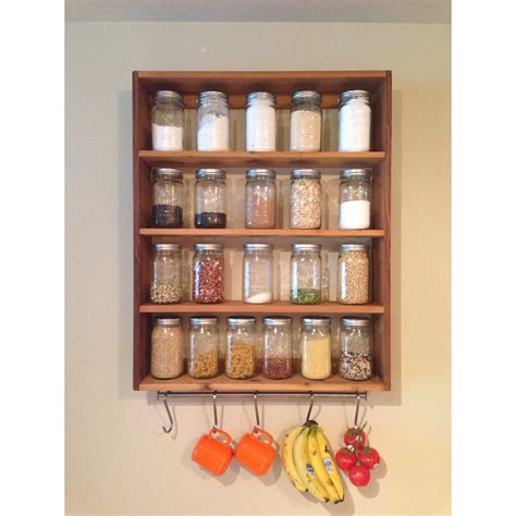 Jar Shelf by Jar Storage Jar Shelf Bookshelf Storage By