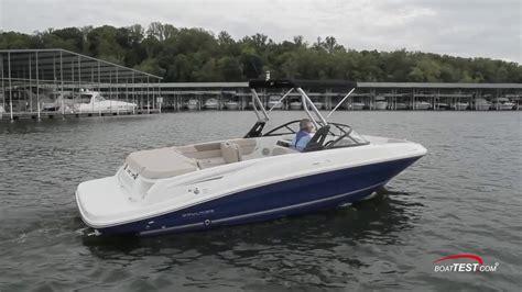 bayliner vr6 boat reviews 2016 bayliner vr6 ski boat runabout test report