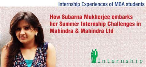 Mba Internship Travel Experience by Mba Internship Experience Subarna Mukherjee Iift