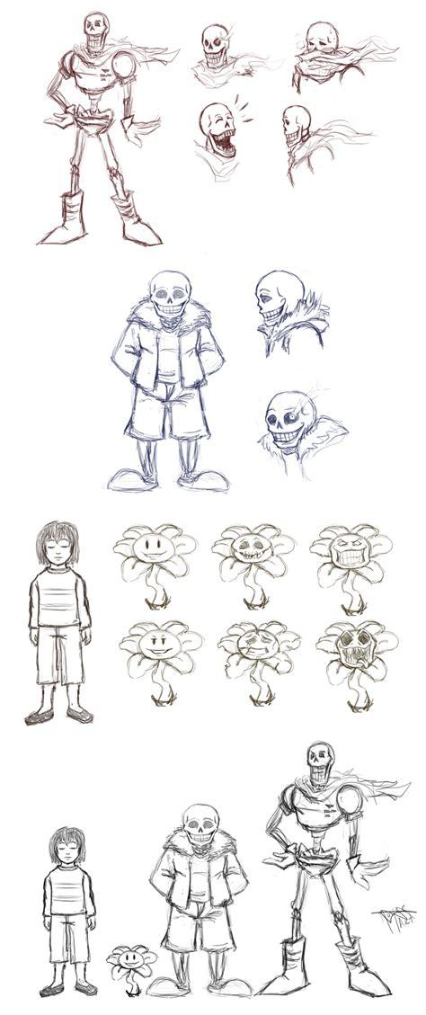 undertale sketchbook undertale sketch dump 01 by joycew on deviantart