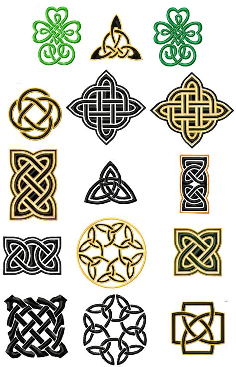 Knot Designs - simple celtic knots celtic machine embroidery designs ebay