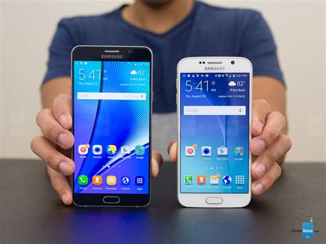 Pelindung Samsung Galaxy V Samsung Galaxy Note5 Vs Samsung Galaxy S6