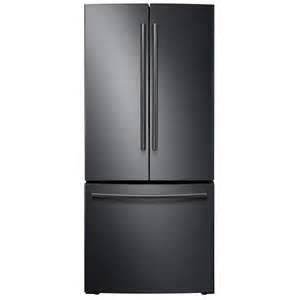 Interior French Door Home Depot samsung 30 in w 21 8 cu ft french door refrigerator in