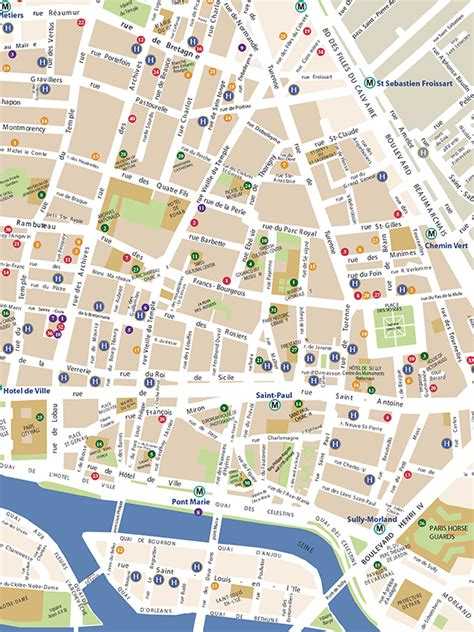 marais map discover the new 2015 marais map edition