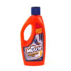 mr muscle drain cleaner 500ml toilet cleaner household care