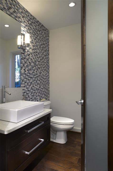 half bathroom tile ideas beechwood half bath modern bathroom atlanta by