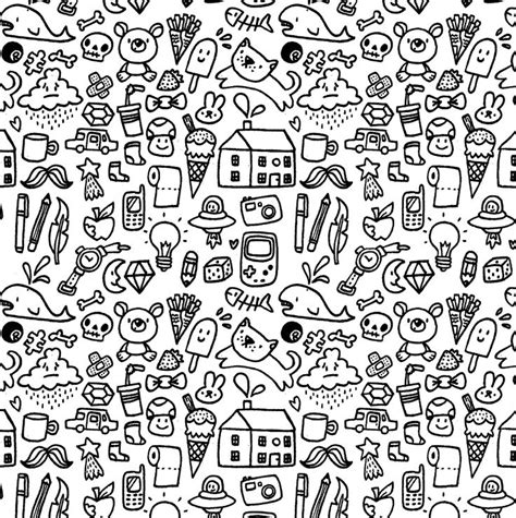 pattern of doodle cute doodle pattern picture hd wallpapers backgrounds