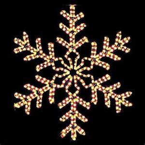 lighted snowflakes outdoor outdoor decorations