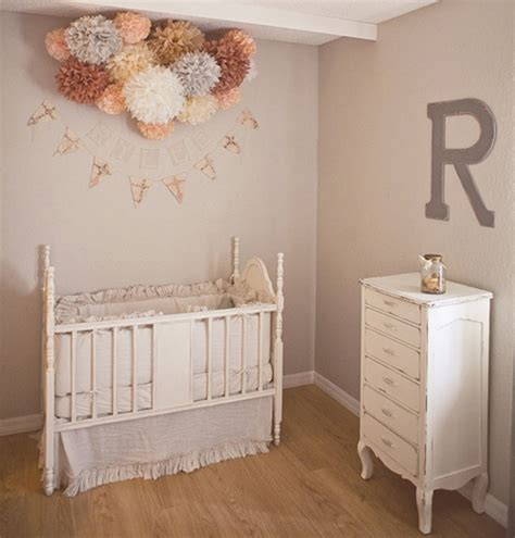 vintage babyzimmer and grey nursery design for a baby kidsomania