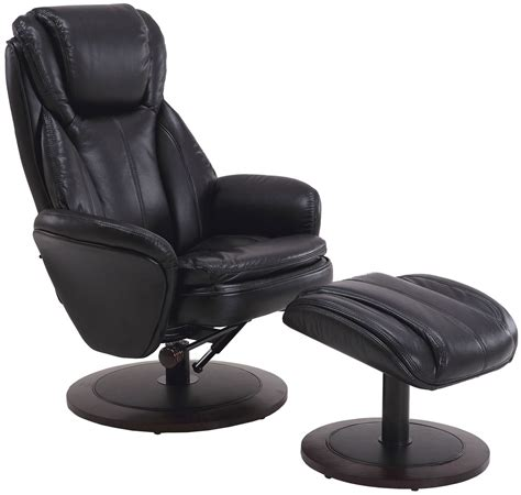 Black Recliners 200 by Black Breathable Swivel Recliner With Ottoman