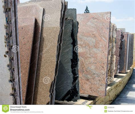 Granite For Sale Colorful Granite Slabs For Sale Royalty Free Stock Image
