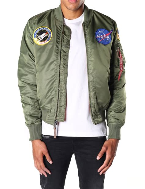 Ma 1 Nasa Bomber alpha industries s ma 1 vf nasa bomber jacket