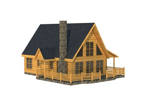 cabin floor log home floor plans