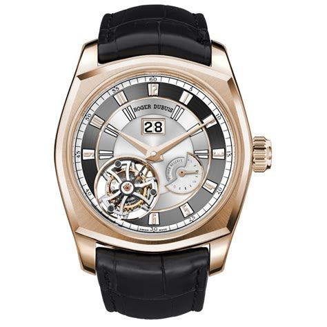 Roger Dubuis Silver Leather Matic For rddbmg0010 roger dubuis la monagasque essential watches