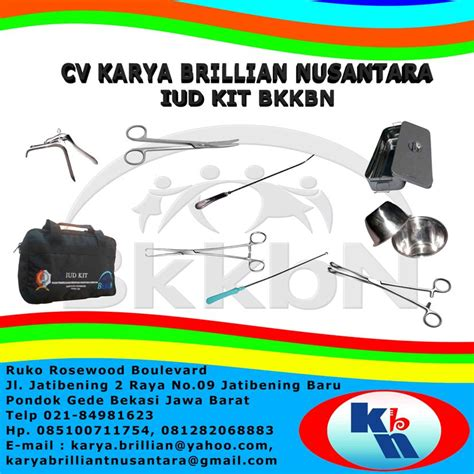 Iud Kit Std jual iud kit bkkbn 2018