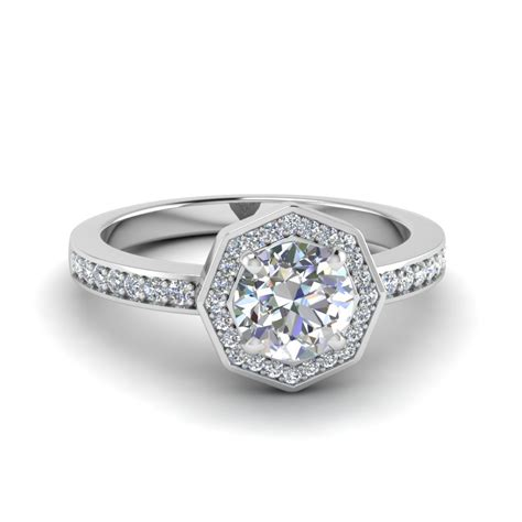 pave engagement rings alluring pave micropave set engagement rings