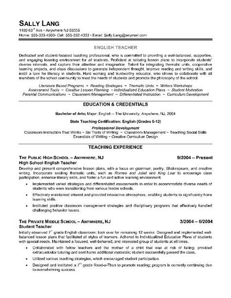 Border Sle Resume by Resume Borders