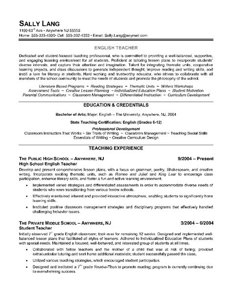 teacher resume borders