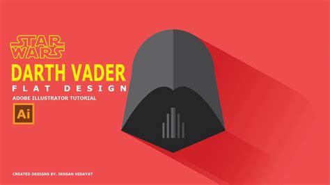 flat landscape illustrator tutorial for beginners youtube adobe illustrator tutorial darth vader flat design star