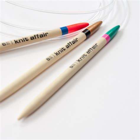 knitting needle circular knitting needles by knit affair