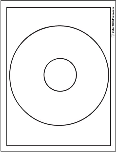 circle coloring page pdf shape coloring pages customize and print