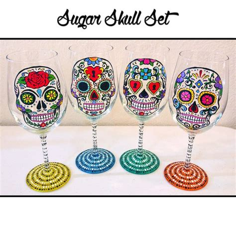 skull barware day of the dead archives creepbay