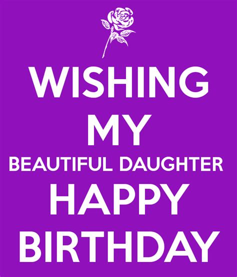 printable happy birthday cards for my daughter wishing my beautiful daughter happy birthday birthdays