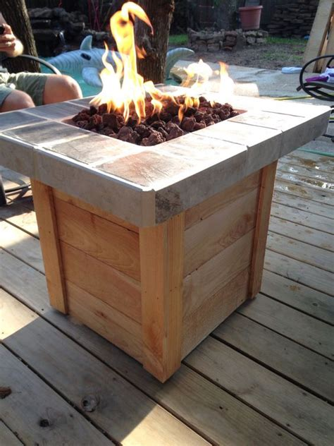 diy pit table plans diy propane pit my weekend projects diy propane pit propane pits