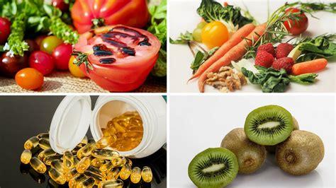 los mejores alimentos  vitaminas  tus ojos