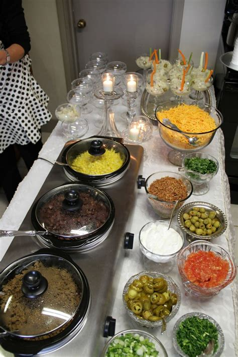 nacho bar topping ideas mash potato bar ugly sweater party pinterest