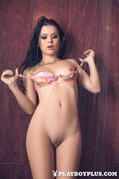 Milena In Intimate Shower Centerfolds Blog